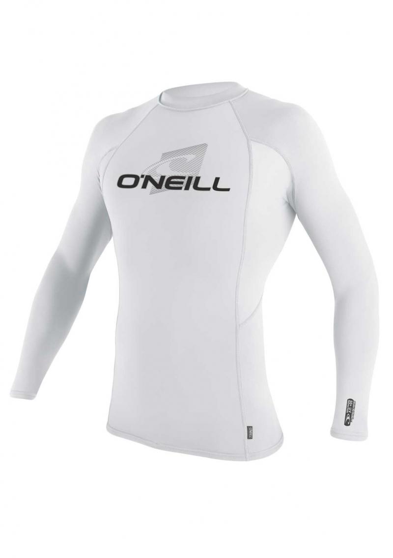 O'Neill long arm white lycra