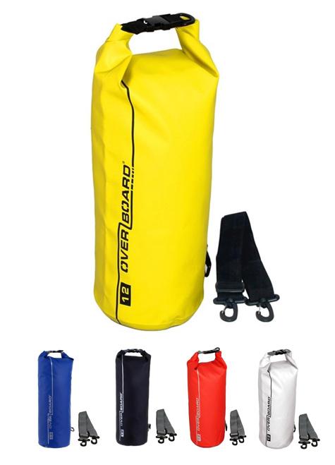 Overboard vízálló Tube Bag 12 Liter - több színben
