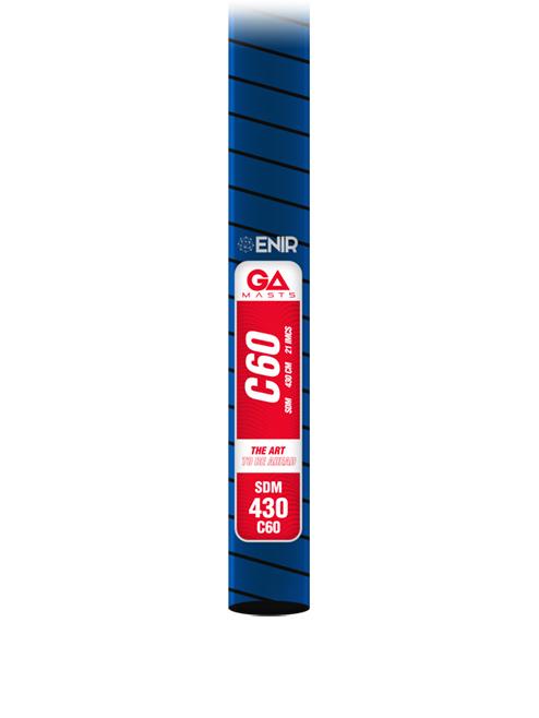 Gaastra C60 SDM carbon árboc
