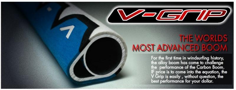 Aeron V-Grip 26 alu/carbon hybrid boom