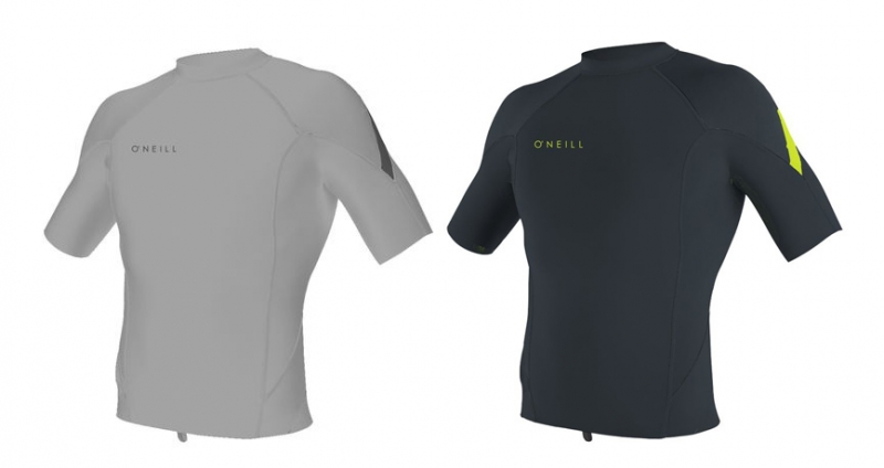 O′Neill reactor 1mm neoprene short sleeve top 5081