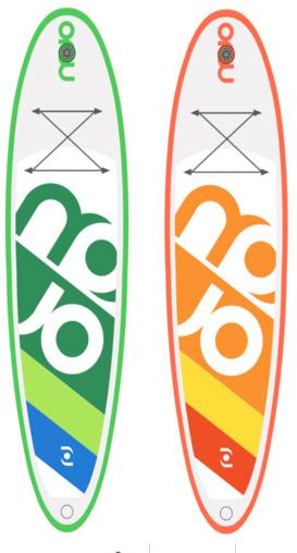 Mojo SurfAir inflatable windSUP board