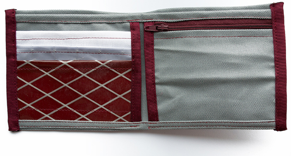 ReSailCle - North grey wallet