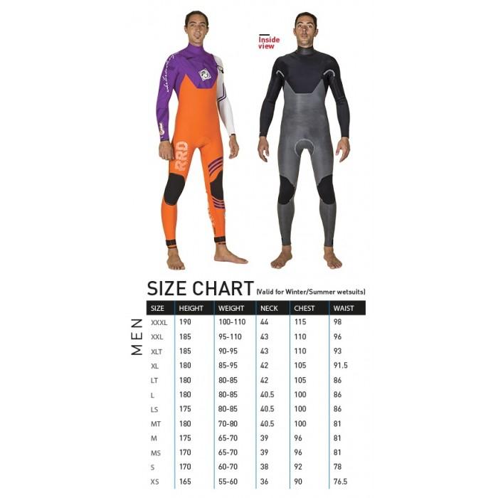 RRD Celsius Pro 4/3  chest zip