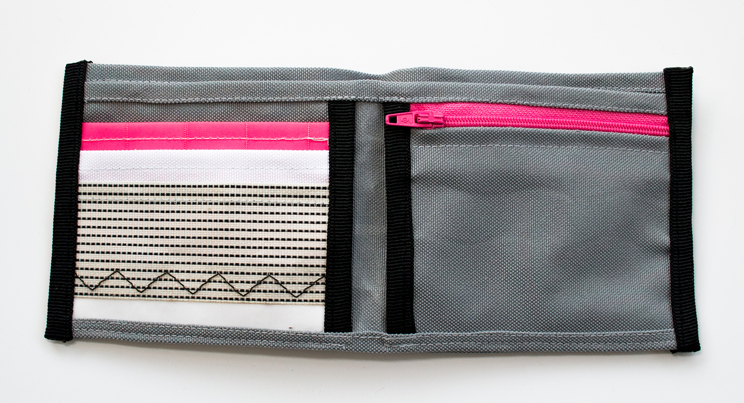 ReSailCle - North pink wallet