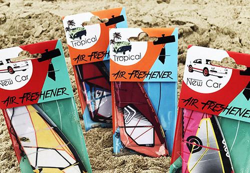 Windsurf sail air freshner