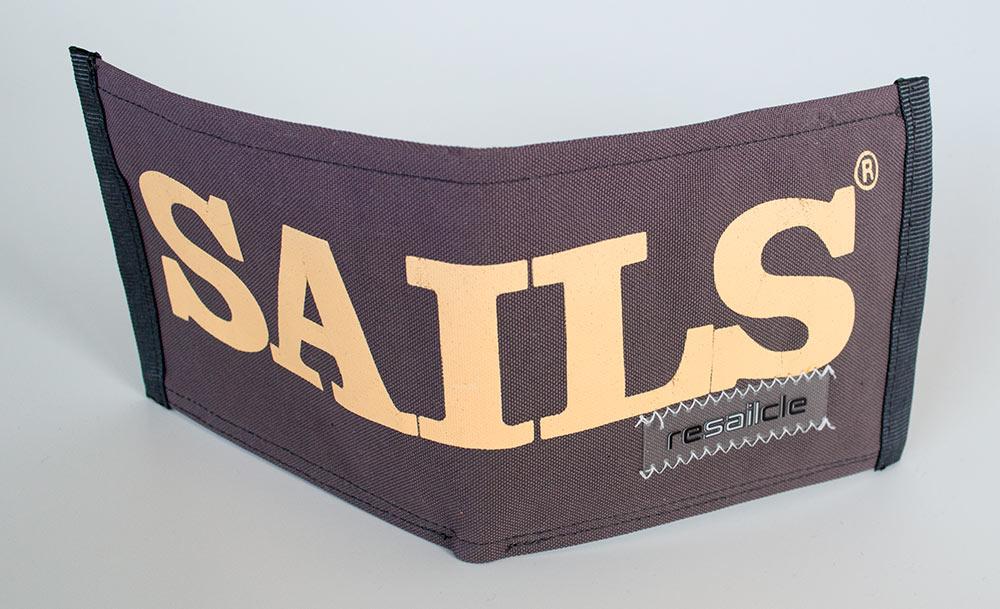 ReSailCle - North Sails Quattro wallet