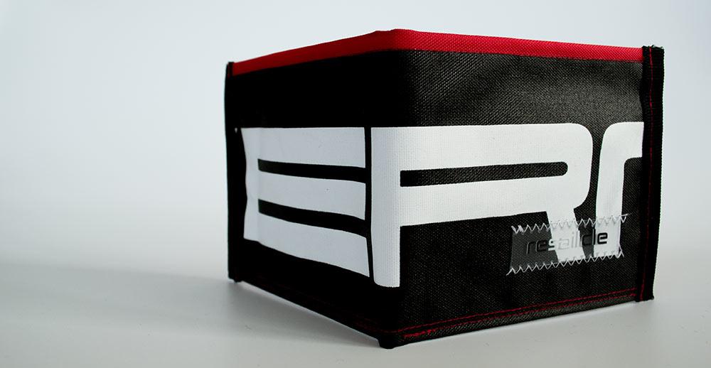 ReSailCle - Severne black-red III wallet