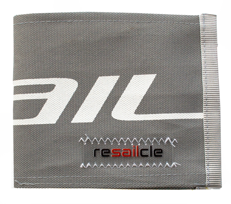 ReSailCle - north grey-orange II wallet