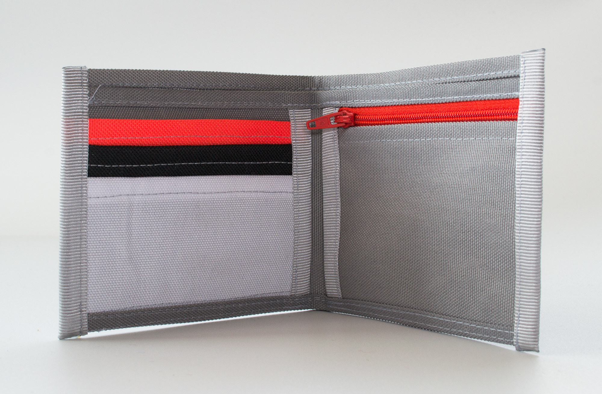 ReSailCle - north grey-orange II wallet
