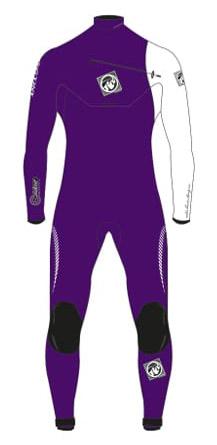 prysm violet / white