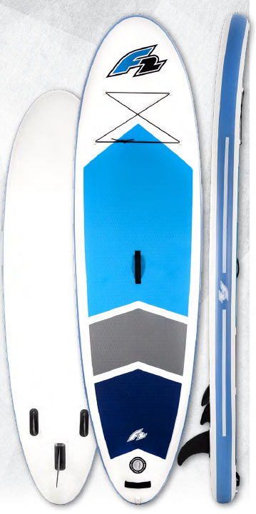 F2 Team inflatable SUP board