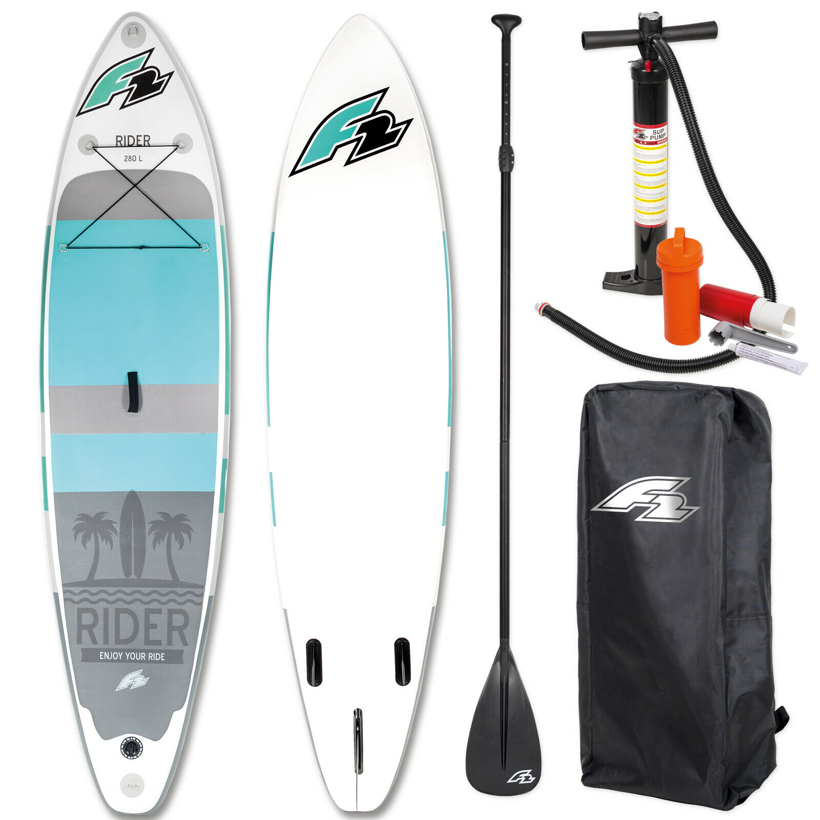F2 Rider inflatable SUP board