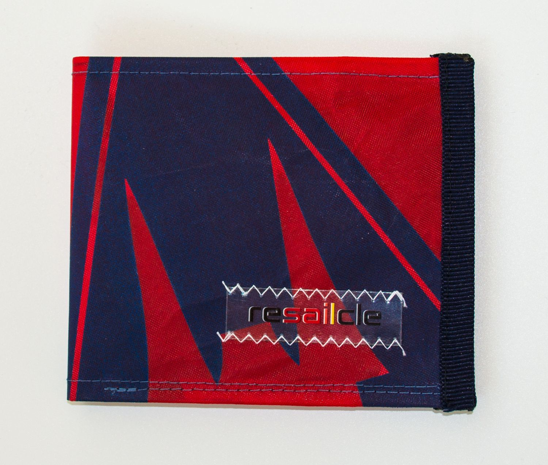 ReSaiCle -  Gaastra Logo red wallet