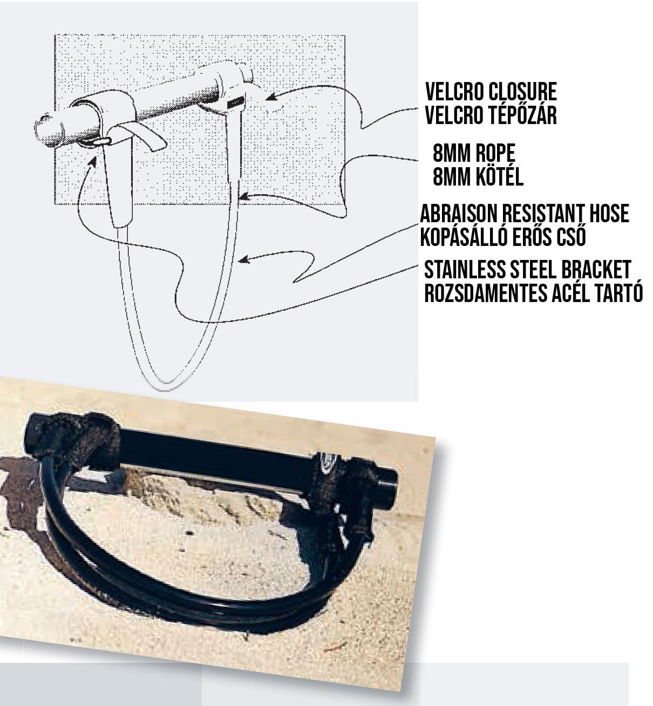 Ascan Powerset Special fix trapézkötél