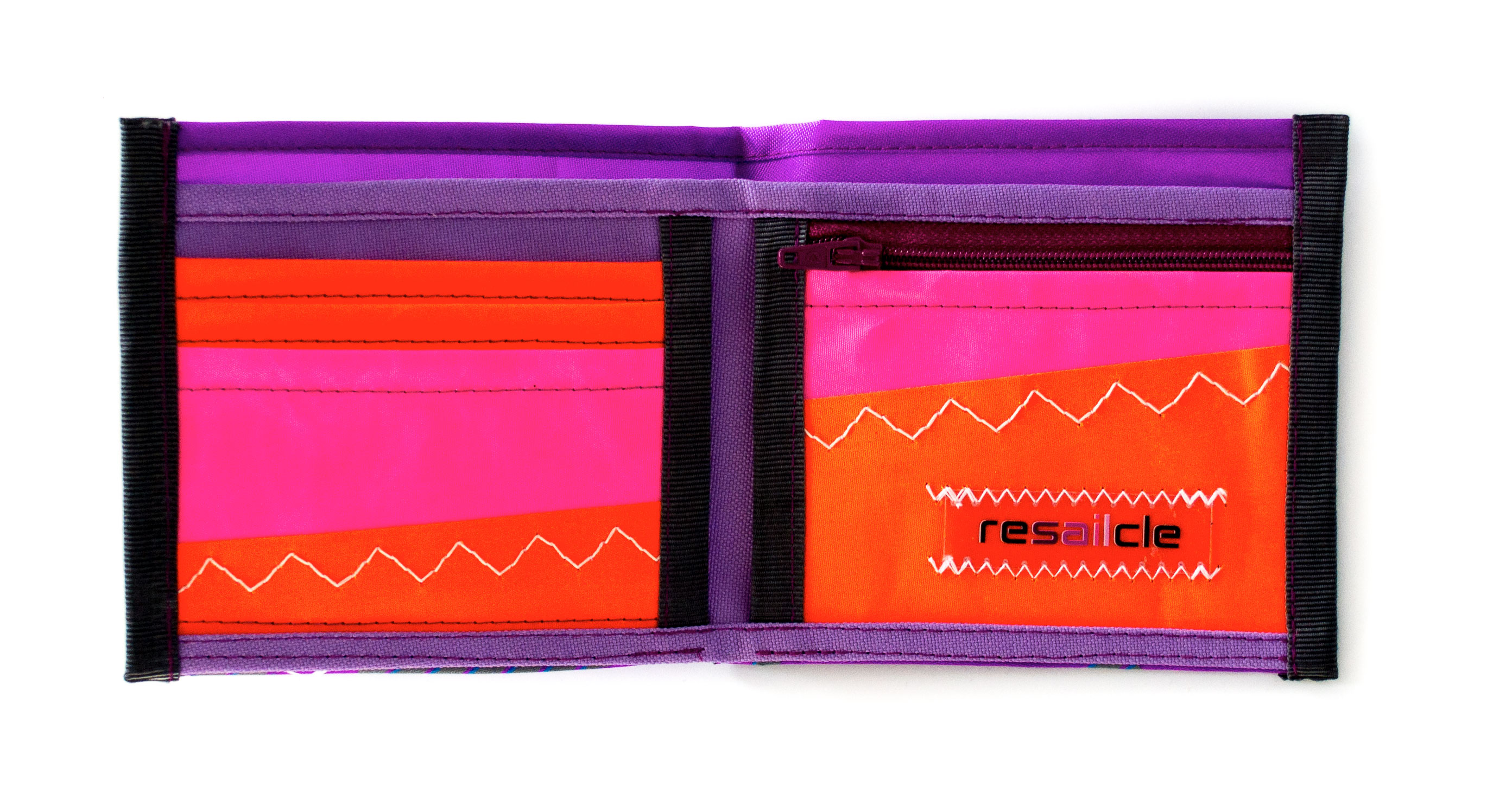 ReSailCle - Gaastra purple wallet