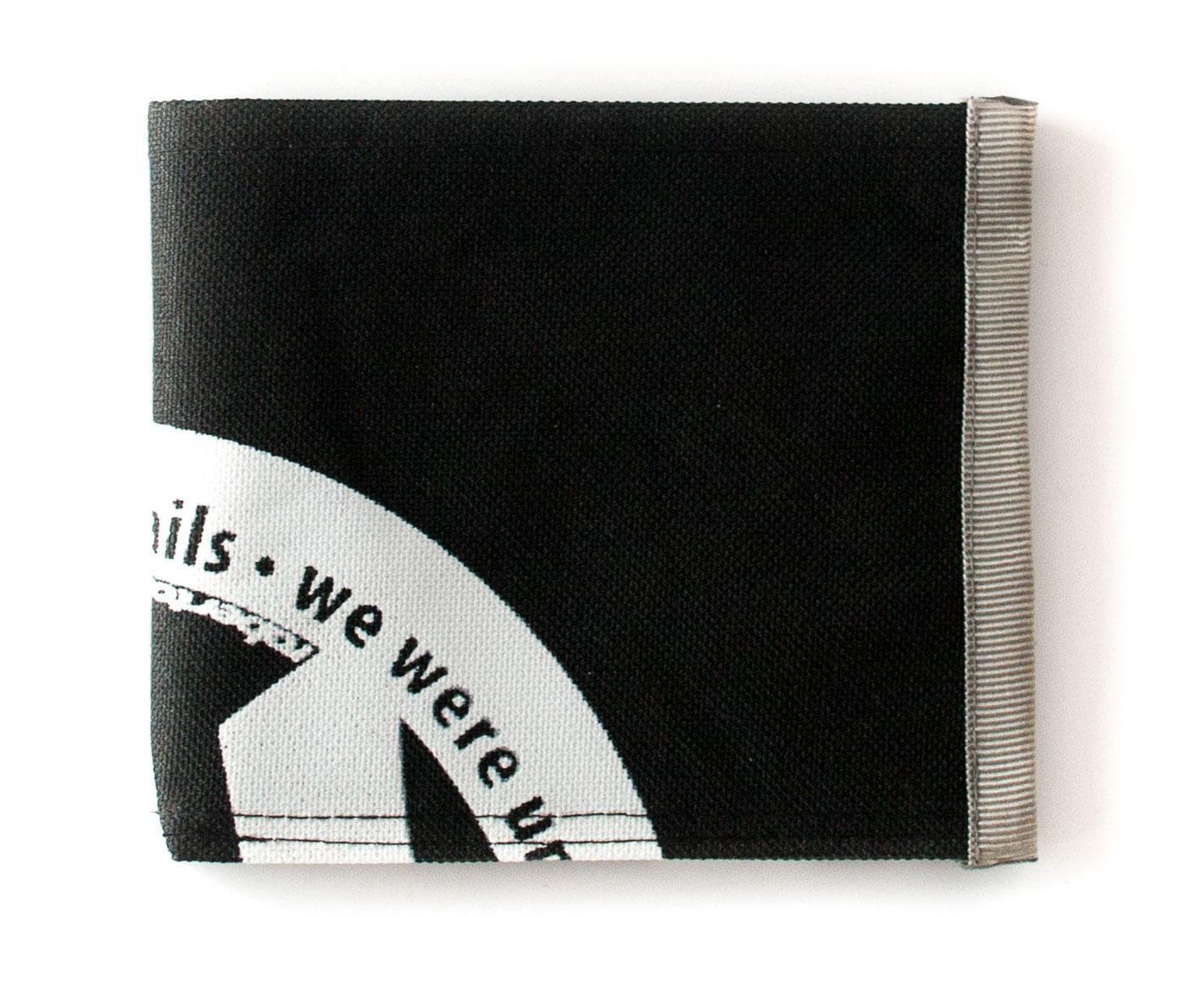 ReSailCLe - RRD black&white wallet