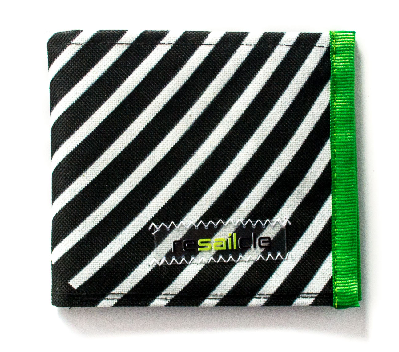 ReSailCle - RRD black and green wallet