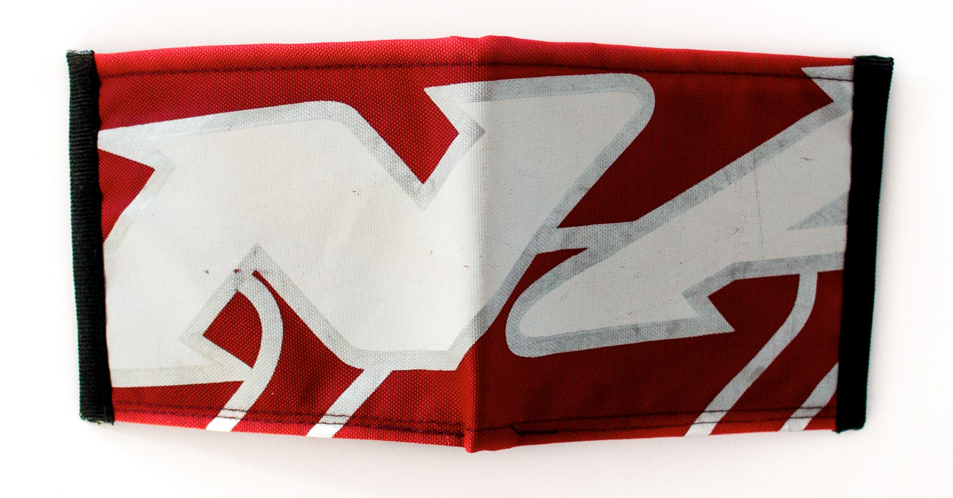 ReSailCle - Naish silver-red-white II. wallet