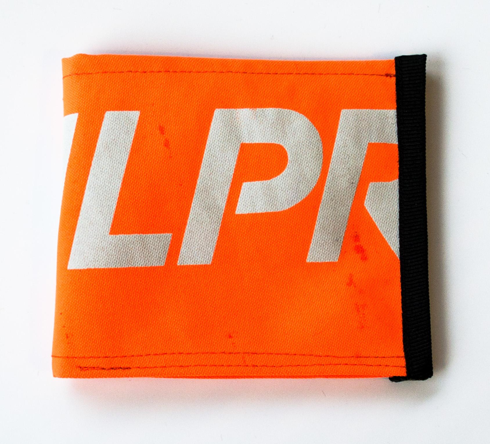 ReSailCle - NP orange pénztárca
