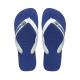 Havaianas Brasil logo flip-flop papucs - marine blue