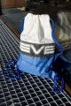 ReSailCle - blue-white severne gym bag