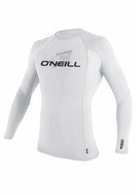 O'Neill long arm white lycra>