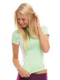 O'Neill women's S/S skins - (Mint)>