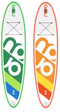 Mojo SurfAir inflatable windSUP board >