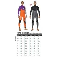 RRD Celsius Pro 4/3  chest zip>