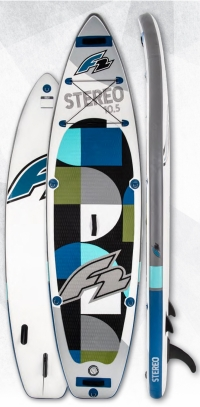 F2 Stereo 2020 inflatable SUP board>