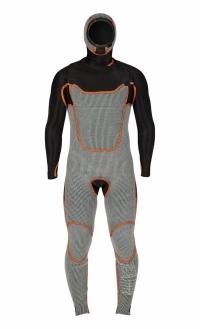 RRD Fahrenheit 5/3 back zip  - akár téli szörfözésre is! >