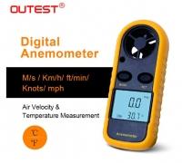 Handheld anemometer / wind gauge>