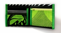 ReSailCle - RRD black and green wallet>